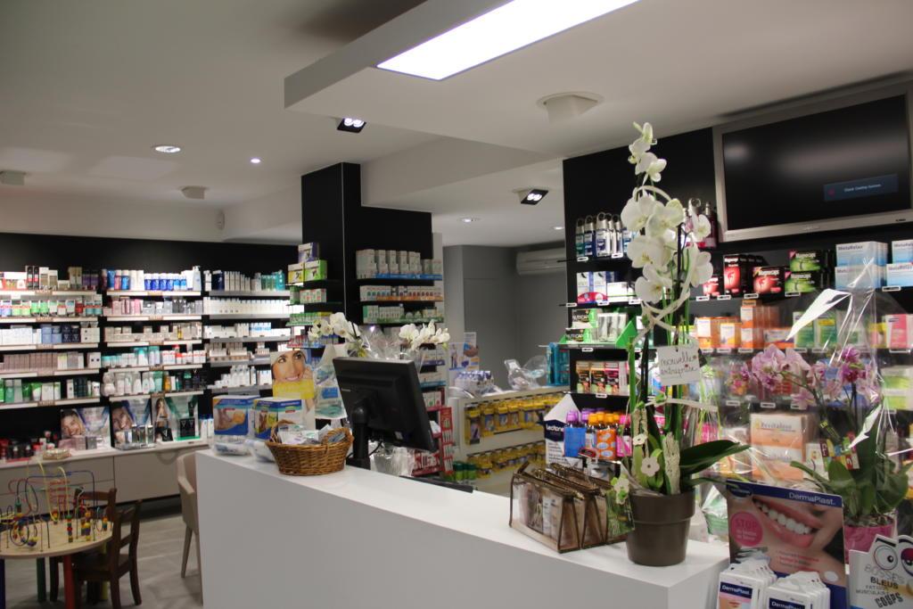 Pharmacie de Mazy - Eclairage LED, LED, Bureau d'étude d'éclairage, éclairage,